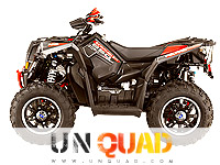 Quad Polaris Scrambler XP 850