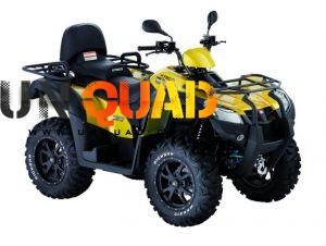 Quad Kymco 500 MXU I DX 4x4