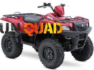 Quad Suzuki Kingquad 500AXI 4x4