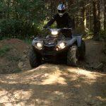 3 Phares Pour Rider La Nuit Sur Le Kodiak 450