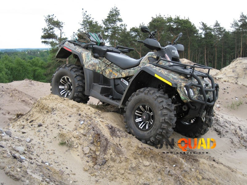 Encore Une Version Camo Du Quad Can Am Outlander 650
