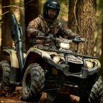 Ideal Pour La Chasse Le Quad Yamaha Kodiak 450