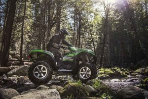 Kawasaki Brute Force 750 4x4i EPS En Franchissement