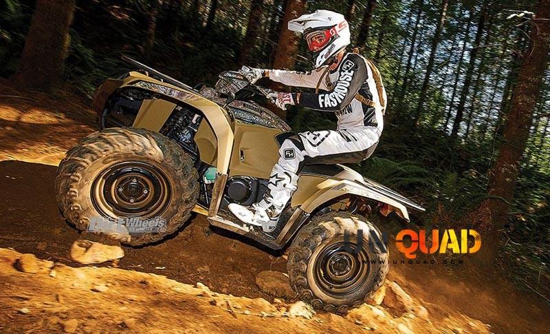 Le Quad Yamaha Kodiak 450 En Montee