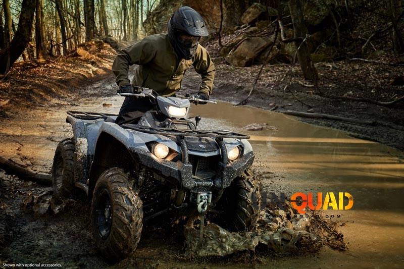 Le Quad Yamaha Kodiak 450 Ne Craint Pas Les Bourbiers