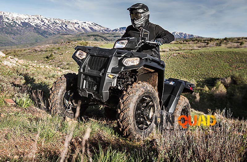Le Quad Polaris Sportsman 570 SP Passe Partout Facilement