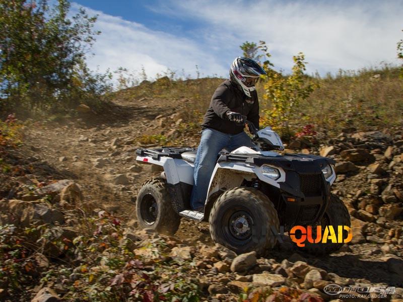 Pierrier Pour Quad Polaris Sportsman 570 SP