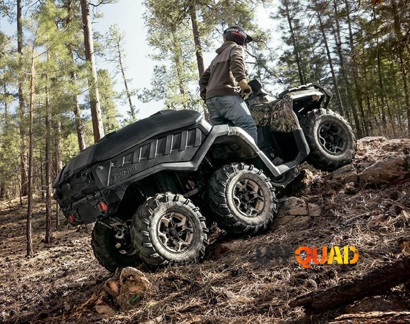 Quad Can Am Outlander 650 Version 6×6