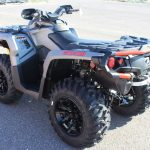 Quad Can Am Outlander 650 Vue Arriere