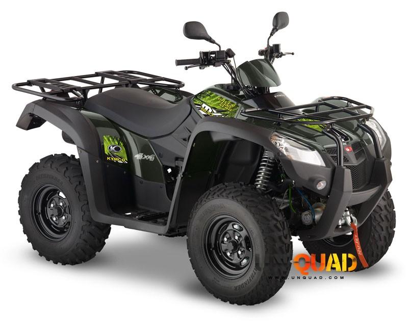 Quad Kymco MXU 500 Green Line