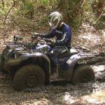 Dans La Boue Le Quad Yamaha Kodiak 450