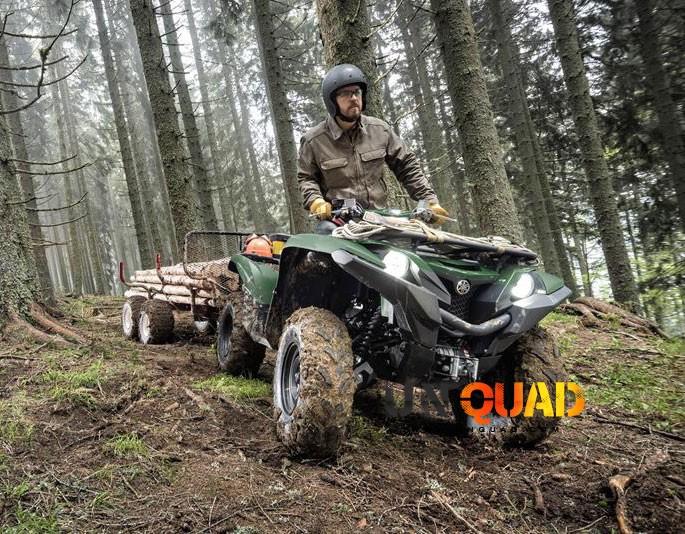 Quad Yamaha Homologue Maga
