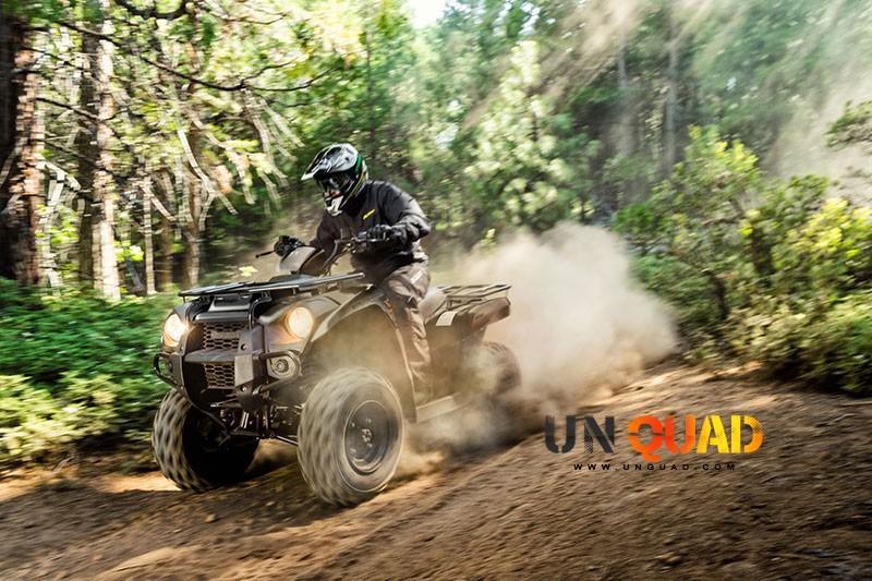 Quad Kawasaki Brute Force 300 Aussi Taillé Pour La Rando