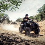 Quad Kawasaki Brute Force 300 En Action
