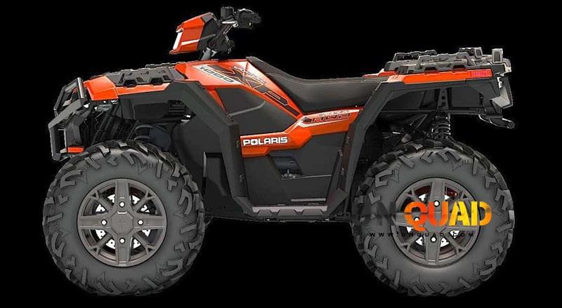 Quad Polaris Sportsman Touring XP 1000 Dans Sa Livrée Orange