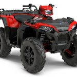 Quad Polaris Sportsman Touring XP 1000 Version Rouge