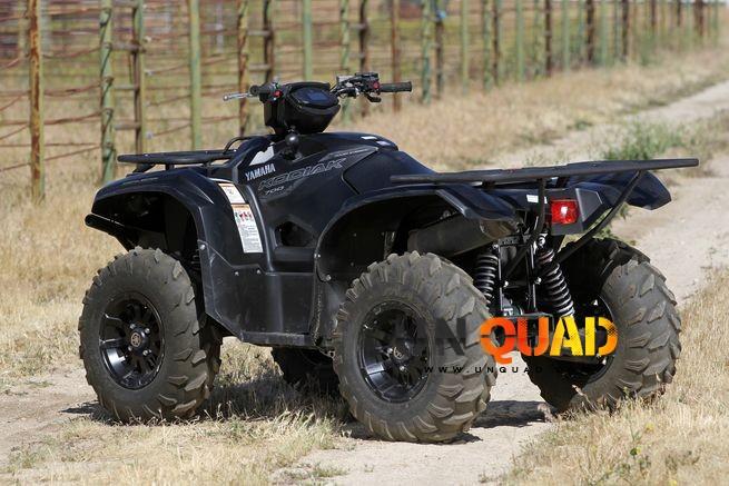 Vue Arriere Du Yamaha Kodiak 700