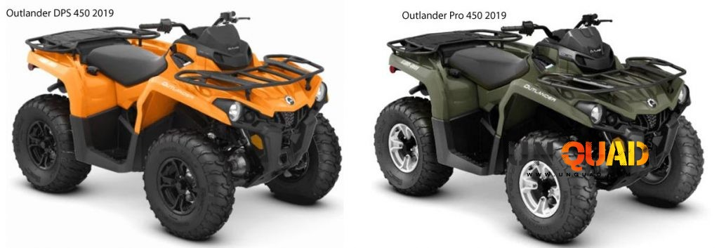 Can Am Outlander 450 2019