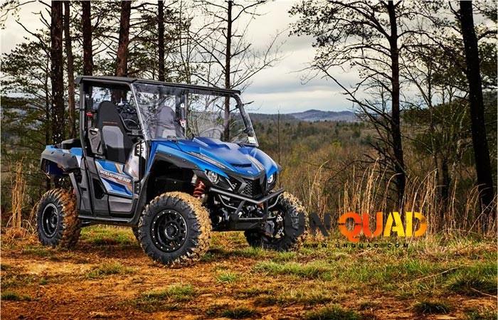 Yamaha Wolverine X2 Bleu