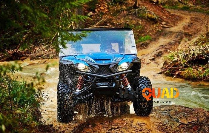 Yamaha Wolverine X2 Sortie De Franchissement